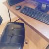 落ち着いた空間づくり 仕事用のデスクを買いました