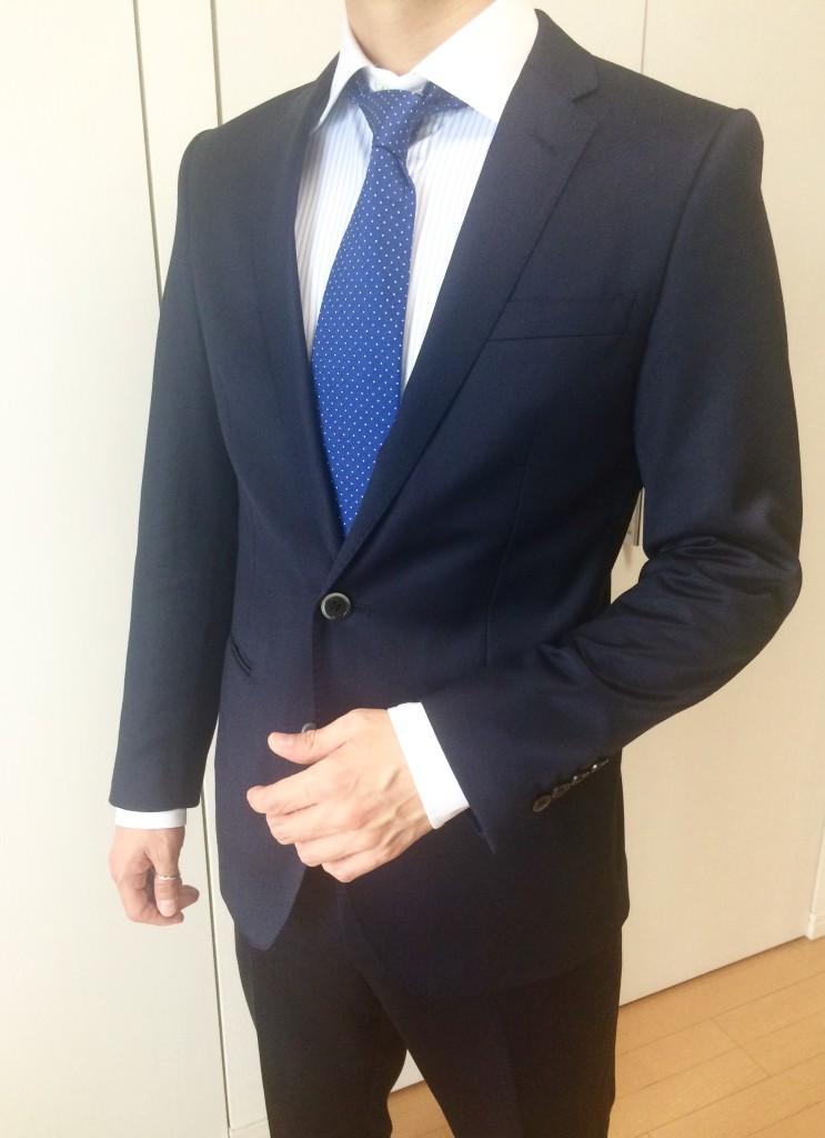 ナノユニバース スーツ コーディネート