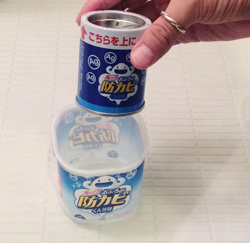 ルック お風呂の防カビ くん煙剤  おすすめ 風呂 カビ 掃除 セット 使い方