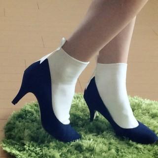 秋の靴下コーデ☆大人のクラシカルな靴下ブランド